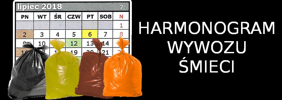Link do strony z harmonogramem wywozu śmieci