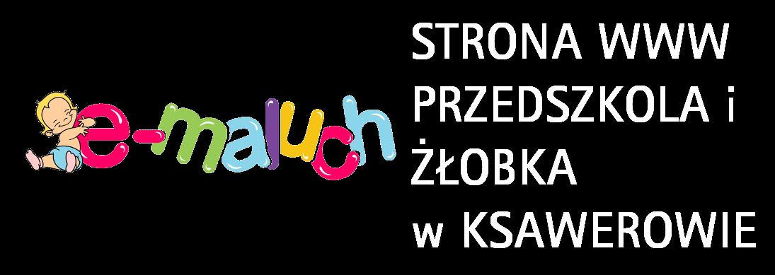 Link do strony www przedszkola i żłobka emaluch w Ksawerowie
