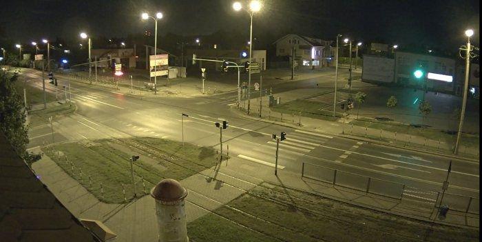 przykładowy obraz z kamery on-line umiejscowionej w Ksawerowie